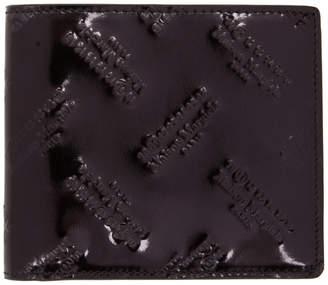 Maison Margiela Black All Over Logo Wallet