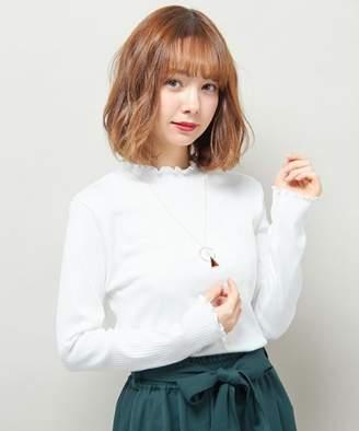 INGNI (イング) - イング 【春の新作】ブル三角リングロングネックレス
