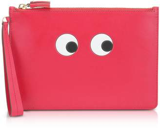 Anya Hindmarch Lollipop Circus Leather Eyes Zip-top Pouch