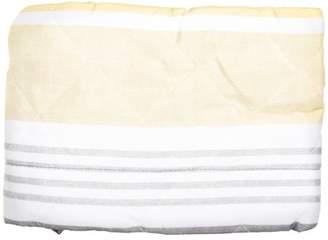 Mainstays Gray & Yellow Stripe Pillow Sham