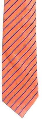 Charvet Striped Silk Tie