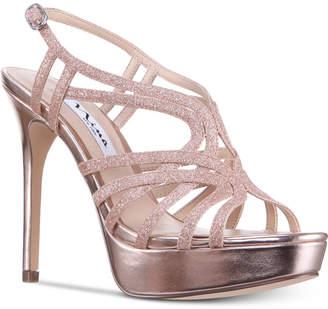 Nina Solina Platform Evening Dress Sandals Women's Shoes