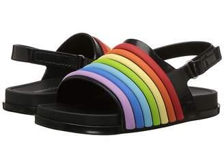 Mini Melissa Mini Beach Slide Sandal Rainbow (Toddler/Little Kid)