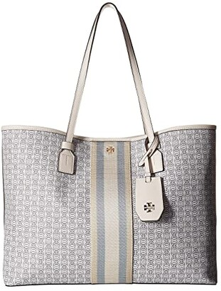 474c136b2 Tory Burch Gemini Link Coated Canvas Tote - ShopStyle