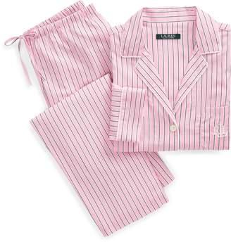 Ralph Lauren Striped Sateen Sleep Set