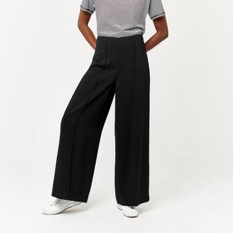 Warehouse Pintuck Wide Leg Trouser
