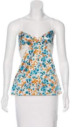 Dolce & Gabbana Printed Sleeveless Top