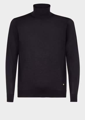 Versace Wool Turtleneck Knit