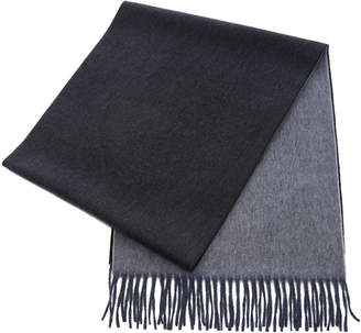 Co Begg & Large Reversible Cashmere Scarf