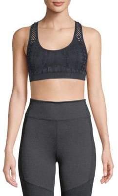 Electric Yoga Open-Knit Sports Bra