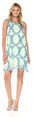 Max Studio Women's Sleeveless Lace Dress