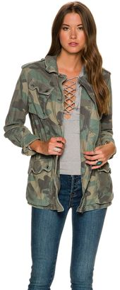 Free People Not Your Brothers Jacket $148 thestylecure.com