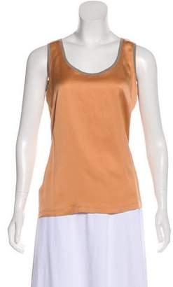 Fabiana Filippi Silk Sleeveless Top