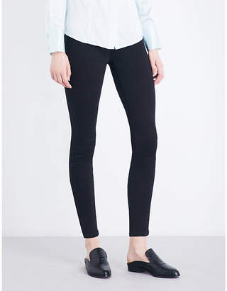 7 For All Mankind Illusion luxe super-skinny high-rise jeans
