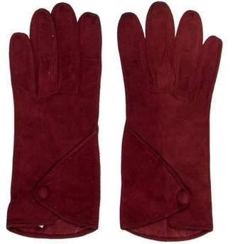Max Mara Suede Gloves