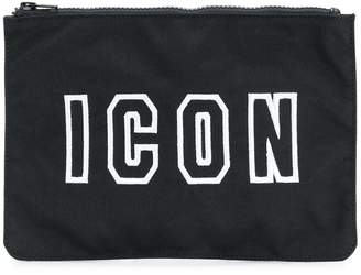 DSQUARED2 Icon logo wash bag
