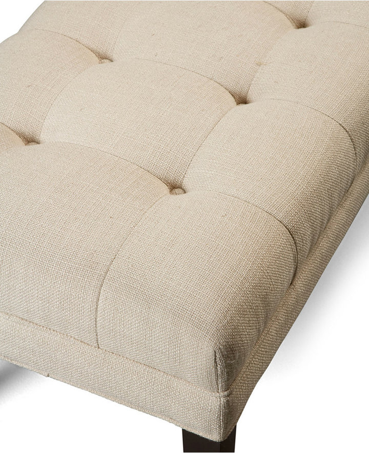 Abby Fabric Bench