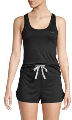 Calvin Klein Two-Piece Logo Tank Top & Shorts Set