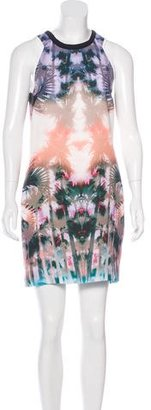 Sandro Sleeveless Watercolor Dress $85 thestylecure.com