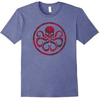 Marvel Hail Hydra Camo Print Graphic T-Shirt C1