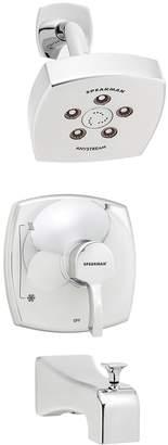 Speakman Tiber Shower Head, Diverter Valve & Tub Spout Set (3 PC)