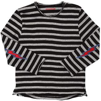 Zadig & Voltaire Striped Interlock Long Sleeve T-Shirt