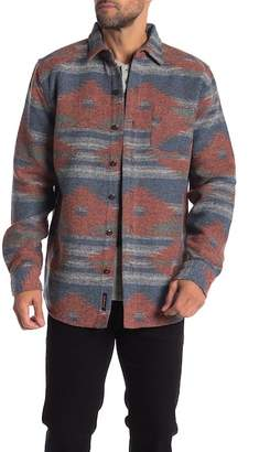 Weatherproof Jacquard Regular Fit Shirt Jacket