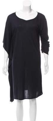 Zero Maria Cornejo Asymmetrical Knit Dress