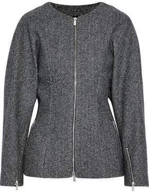 Michael Kors Herringbone Wool-Blend Jacket