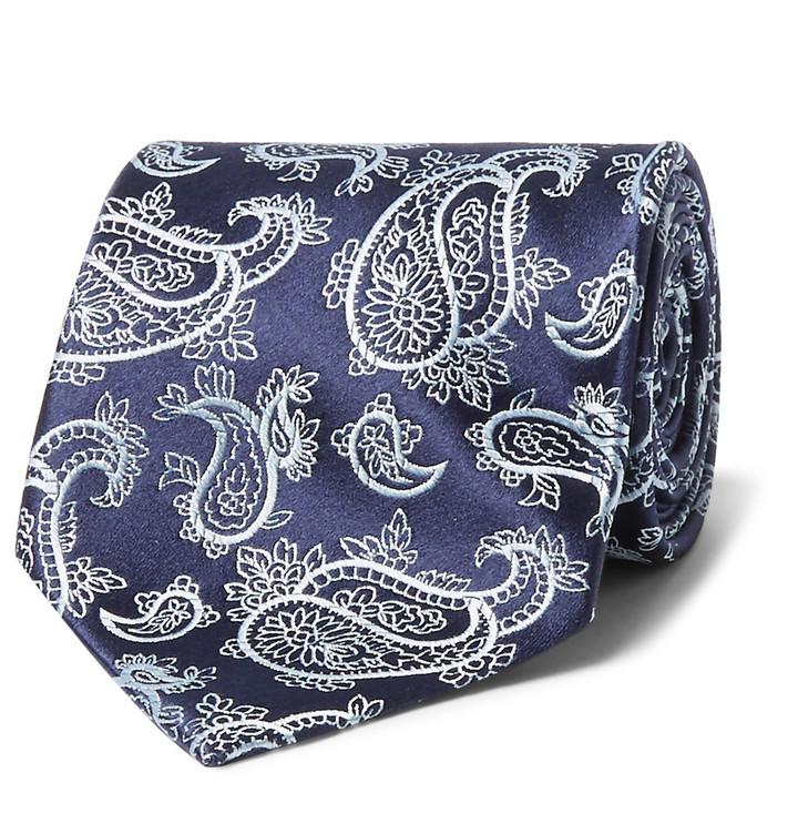 CharvetCharvet 8.7cm Silk-Jacquard Tie