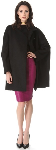 Thierry Mugler Leather Skirt