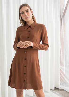 And other stories Fitted Shirt Dress