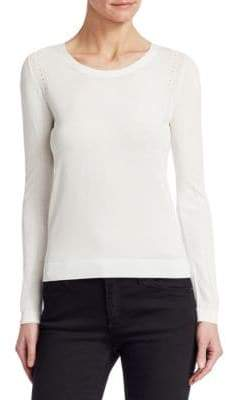 Emporio Armani Long Sleeve Crew Neck Sweater