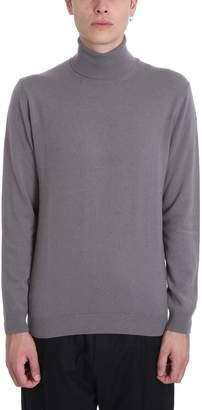 Low Brand Grey Wool High Collar Turtleneck