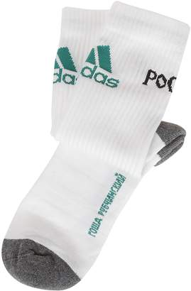 Gosha Rubchinskiy Logo Ribbed Socks