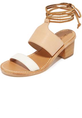 Soludos Colorblock City Sandals $159 thestylecure.com