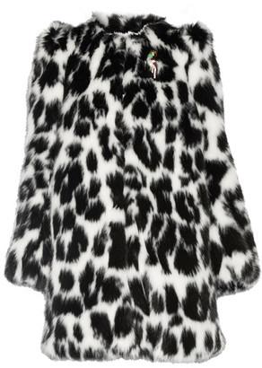 Marc Jacobs - Embellished Leopard-print Faux Fur Coat - Leopard print $1,095 thestylecure.com