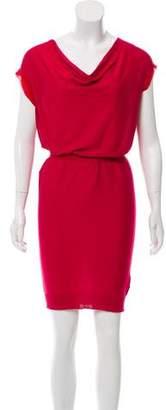 Lanvin Knit Short Sleeve Dress