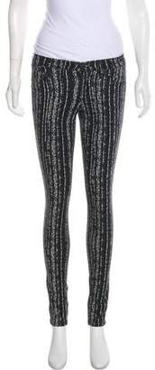 Rag & Bone Mid-Rise Printed Leggings