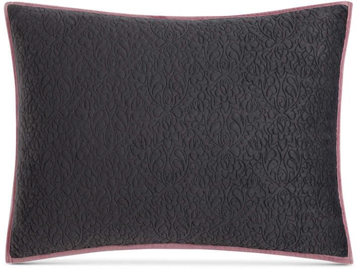 Velvet Quilted Standard Sham Bedding