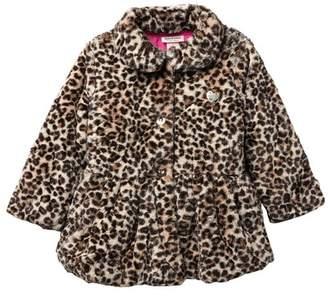 Juicy Couture Leopard Print Faux Fur Jacket (Toddler Girls)