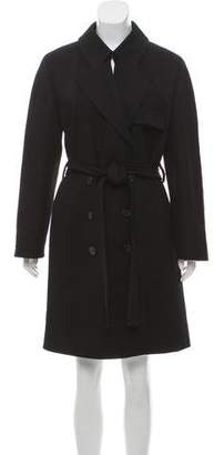 Louis Vuitton Wool Knee-Length Coat w/ Tags