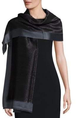 Bajra Frame Silk& Cashmere Scarf