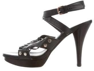 Tod's Crossover Platform Sandals