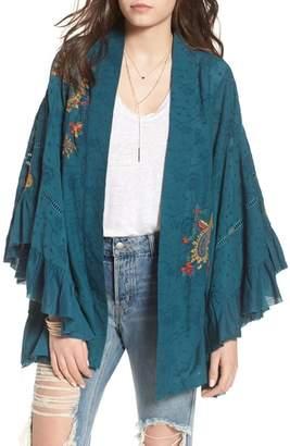 Free People Dottie West Kimono