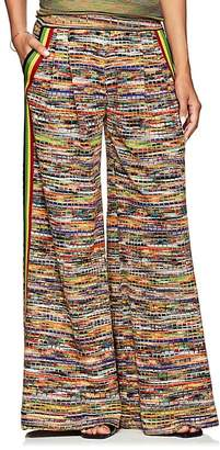 Missoni Women's Wool-Blend Wide-Leg Pants