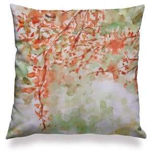VIDA Light Square Cotton Accent Pillowcase