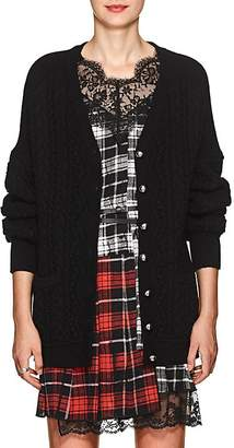 Robert Rodriguez Women's Cable-Knit Wool-Cashmere Cardigan