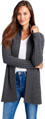 Vineyard Vines Long Cashmere Cable Jacket