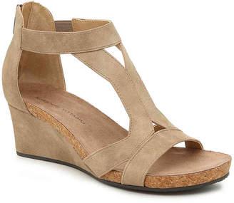 Adrienne Vittadini Thayer Wedge Sandal - Women's
